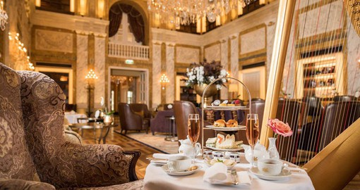 Café Imperial Wien is the birthplace of the celebrated Viennese Kaffeehaus