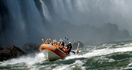 Traverse the rough waters on your Macuco Safari during your South America Tours.