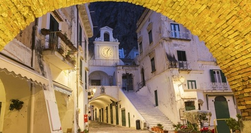 Atrani on Amalfi Coast in Italy
