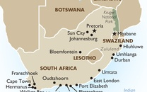 South Africa Country Map