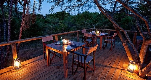 Experience all the amenities Rocktail Beach Camp during your next South Africa tours.