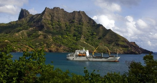 Experience the the mountainous Marquesas on your Tahiti Tour