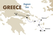 Best of Greece - Athens, Mykonos and Santorini