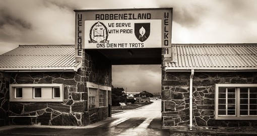 Entrance to Robben Island Prison