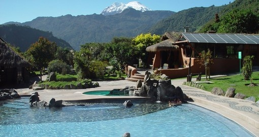 Visit Papallacta Hot Springs during your next trip to Ecuador.