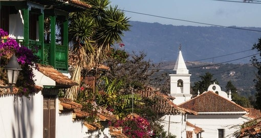 The Old Town in Villa de Leyva is visited on your trip to Colombia