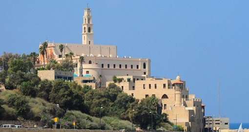 Old Jaffa as seen from Tel Aviv makes for a great photo while on your Israel vacation.