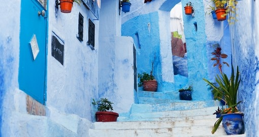 Beautiful Blue Medina