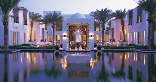 Explore all the amenities of the Chedi Muscat on your next Oman vacations.