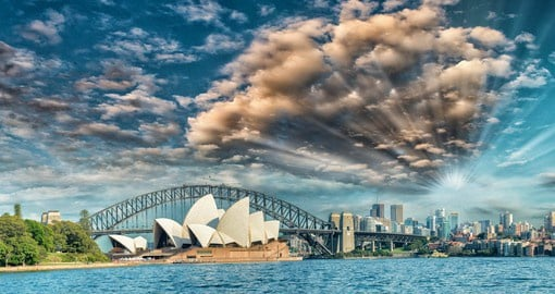 Recognized as one of the 20th century's most iconic buildings, the Opera House opened in 1973