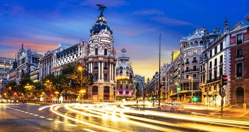 Walk around Gran Via and do some shopping during your next Spain tours.