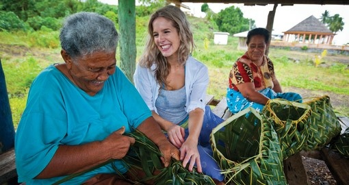 Learn Local customs on your Samoa tour