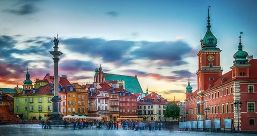Warsaw's Old Town is the jewel in the Polish capital's crown