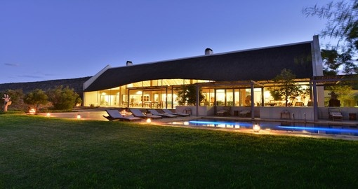 Your South Africa vacation features the Sanbona Wildlife Reserve Gondwana Family Lodge.