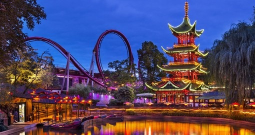 Tivoli Gardens amusement park is the second oldest in the world