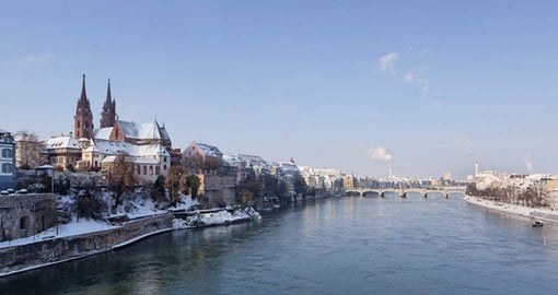 Basel on the banks of the Rhine is your base for your Switzerland vacation