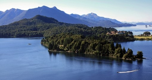 Lake Nahuel Huapi is a great sight to see on your San Carlos de Bariloche vacation