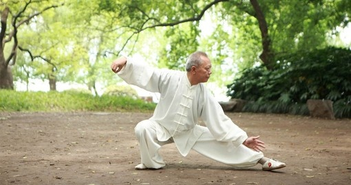 Enjoy a morning Tai Chi class in Beijing on your China Vacation