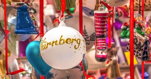 Visit the Christmas market in Nuremberg on your Germany vacation package