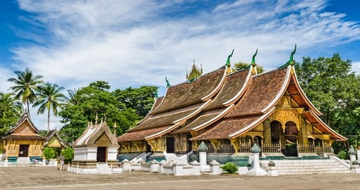 Visit this temple on the north tip of the peninsula while Traveling to Laos