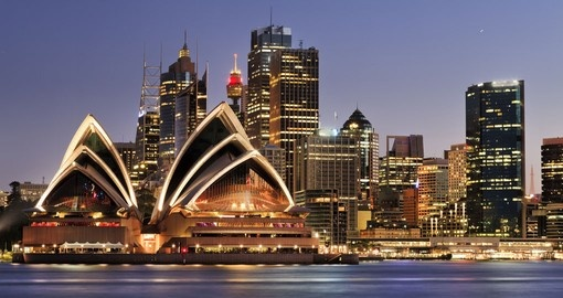 The world famous Sydney Opera House