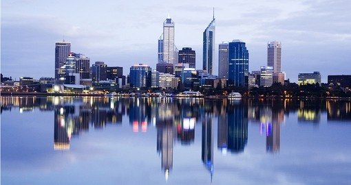 Perth is the fourth most populous city in Australia with 1.8 million