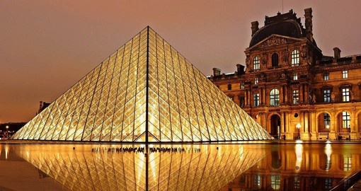 Get an after hours look at The Louvre and enjoy a flight of French wines