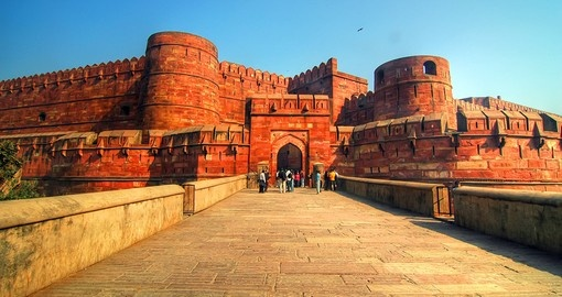 Amor Singh Gate of Agra Fort