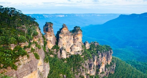 Enjoy a full day tour to the Blue Mountains during your next trip to Australia.