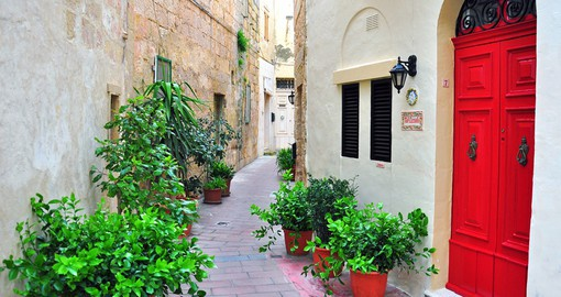 Enjoy the back streets on your Malta Vacations