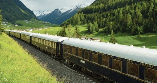 European Landscape from the Venice Simplon Orient Express