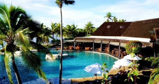 Relax at one of the many resorts - there are many to choose from when booking one of our Fiji vacations.