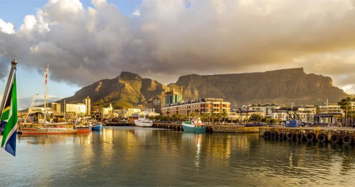 Site of South Africa's first European settlment, Cape Town is known as the Mother City