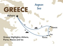 Greece Highlights: Athens, Paros, Naxos and Ios