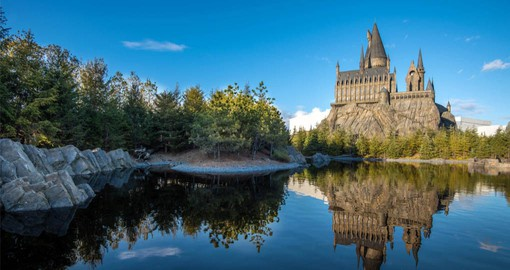 Universal Studios Japan features The Wizarding World of Harry Potter