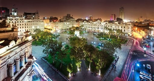 Visit San Martin Square during your Peru vacation.