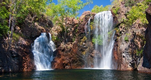 Explore the Florence Falls in Litchfield National Park on your Australian Vacation
