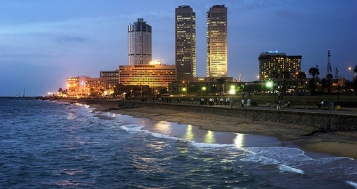Colombo is the largest city and former capital of Sri Lanka and is a must inclusion for all Sri Lanka vacations.