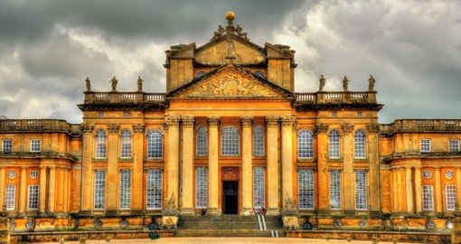 Discover Blenheim Palace situated in the civil parish of Blenheim during your next trip to England.