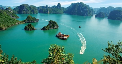 Halong Bay is one of the most beautiful places in Asia