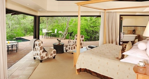 Experience staying at  deluxe Shamwari Eagles Crag Lodge on your next trip to  South Africa.
