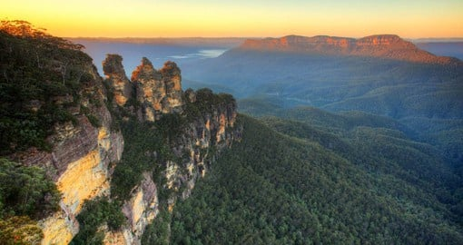 The Three Sisters, according to Aboriginal legend were once beautiful sisters named Meehni, Wimlah and Gunnedoo