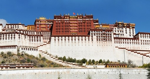 See the historic Potala Palace on your trip to China