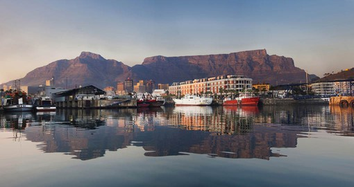 Table Mountain presides over the Mother City