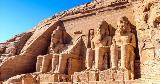 Most visitors consider a visit to the Temple of Ramesses at Abu Simbel a highlight of their Egypt tour