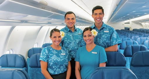Enjoy traditional Hawaiian Service