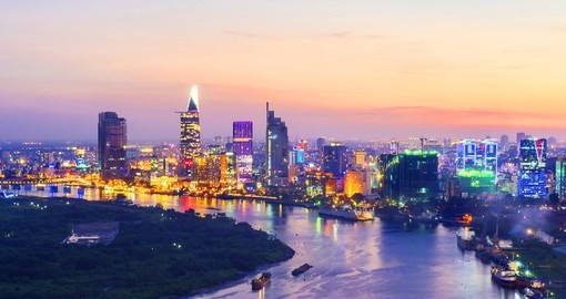 Ho Chi Minh City is the largest and economic center in Vietnam