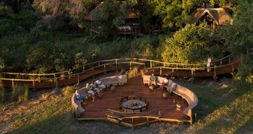 The classic African safari experience at Camp Moremi