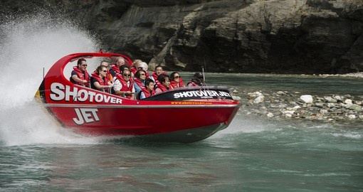 Enjoy an Exhilarating Jetboat Ride on your New Zealand vacation