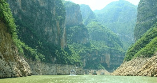 Mountains on the Yangtze